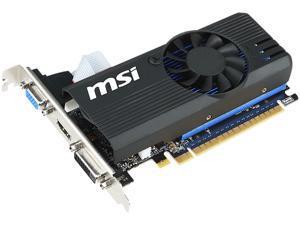 MSI GeForce GT 730 2GB GDDR5 PCI Express 2.0 x16 Low Profile Video Card N730K-2GD5LP/OC