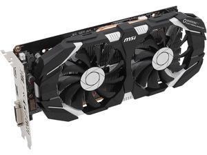 MSI GeForce GTX 1060 6GB GDDR5 PCI Express 3.0 x16 Video Card MSI-GeForceGTX10606GTOC-RFB