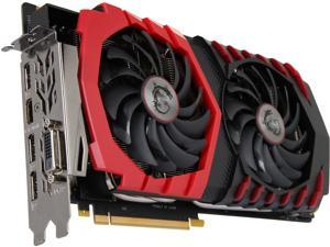 MSI GeForce GTX 1080 DirectX 12 MSI-GEFORCEGTX1080GAMING8G-RFB 8GB 256-Bit GDDR5X PCI Express 3.0 x16 HDCP Ready SLI Support Video Card