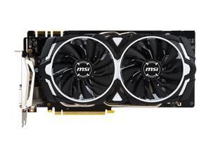 MSI GeForce GTX 1070 Ti DirectX 12 GTX 1070 TI ARMOR 8G 8GB 256-Bit GDDR5 PCI Express 3.0 x16 HDCP Ready SLI Support Video Card