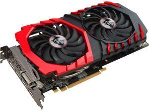 MSI Radeon RX 570 4GB GDDR5 PCI Express x16 CrossFireX Support Video Card Radeon RX 570 GAMING 4G