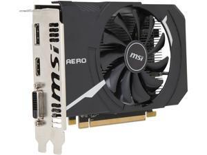 MSI Radeon RX 550 DirectX 12 RX 550 AERO ITX 4G OC 4GB 128-Bit GDDR5 PCI Express