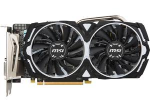 MSI Radeon RX 570 DirectX 12 Radeon RX 570 ARMOR 8G 8GB 256-Bit GDDR5 PCI Express x16 HDCP Ready CrossFireX Support Video Card