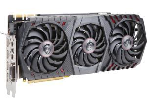 MSI GeForce GTX 1080 Ti 11GB GDDR5X PCI Express 3.0 x16 SLI Support ATX Video Card GTX 1080 Ti GAMING X TRIO
