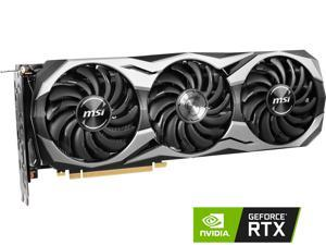 MSI GeForce RTX 2070 DirectX 12 RTX 2070 DUKE 8G OC 8GB 256-Bit GDDR6 PCI Express 3.0 x16 HDCP Ready Video Card