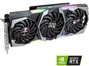 MSI GeForce RTX 2080 DirectX 12 RTX 2080 GAMING TRIO 8GB 256-Bit GDDR6 PCI Express 3.0 x16 HDCP Ready SLI Support Video Card