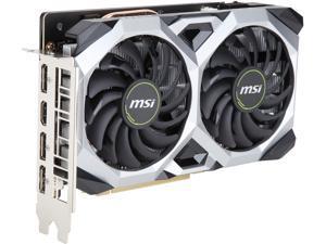 MSI GeForce GTX 1660 DirectX 12 GTX 1660 VENTUS XS 6G OC 6GB 192-Bit GDDR5 PCI Express 3.0 x16 HDCP Ready Video Card