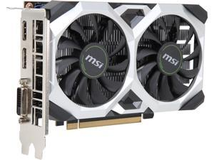 MSI GeForce GTX 1650 DirectX 12 GTX 1650 VENTUS XS 4G OC 4GB 128-Bit GDDR5 PCI Express 3.0 x16 HDCP Ready Video Card