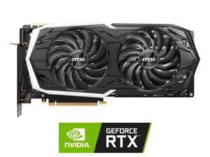 MSI GeForce RTX 2070 SUPER DirectX 12 RTX 2070 Super Armor OC 8GB 256-Bit GDDR6 PCI Express 3.0 x16 HDCP Ready SLI Support Video Card