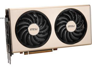 MSI Radeon RX 5700 XT DirectX 12 RX 5700 XT EVOKE OC 8GB 256-Bit GDDR6 PCI Express 4.0 HDCP Ready Video Card