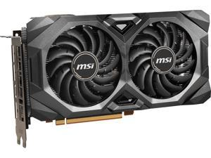 MSI Radeon RX 5700 XT DirectX 12 RX 5700 XT MECH OC 8GB 256-Bit GDDR6 PCI Express 4.0 HDCP Ready CrossFireX Support Video Card