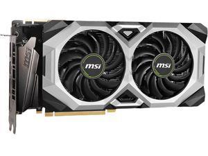 MSI GeForce RTX 2080 SUPER DirectX 12 RTX 2080 Super Ventus XS OC 8GB 256-Bit GDDR6 PCI Express 3.0 x16 HDCP Ready SLI Support Video Card