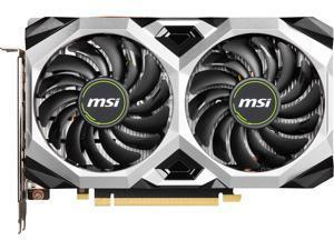 MSI GeForce GTX 1660 SUPER DirectX 12 GTX 1660 SUPER VENTUS XS OC 6GB 192-Bit GDDR6 PCI Express 3.0 x16 HDCP Ready Video Card