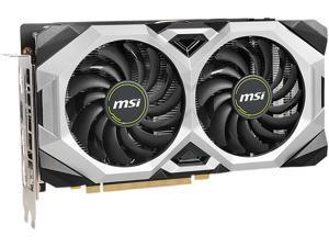 MSI GeForce RTX 2060 SUPER DirectX 12 RTX 2060 SUPER VENTUS GP OC 8GB 256-Bit GDDR6 PCI Express 3.0 x16 HDCP Ready Video Card