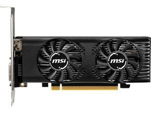 MSI GeForce GTX 1650 DirectX 12 GTX 1650 4GT LP OC 4GB 128-Bit GDDR5 PCI Express 3.0 x16 HDCP Ready Low Profile Video Card