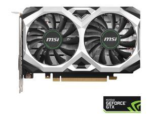 MSI GeForce GTX 1650 SUPER DirectX 12 GTX 1650 Super Ventus XS OC 4GB 128-Bit GDDR6 PCI Express 3.0 x16 HDCP Ready Video Card
