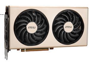 MSI Radeon RX 5700 DirectX 12 RX 5700 EVOKE 8GB 256-Bit GDDR6 PCI Express 4.0 HDCP Ready CrossFireX Support Video Card