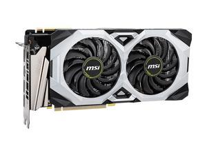 MSI GeForce RTX 2070 SUPER DirectX 12 RTX 2070 SUPER VENTUS GP OC 8GB 256-Bit GDDR6 PCI Express 3.0 x16 HDCP Ready SLI Support Video Card