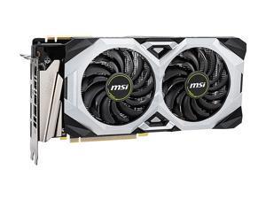 MSI GeForce RTX 2070 SUPER DirectX 12 RTX 2070 SUPER VENTUS GP OC 8GB 256-Bit GDDR6 PCI Express 3.0 x16 HDCP Ready SLI Support Video Card