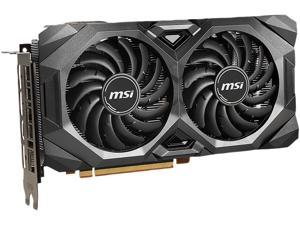 MSI Radeon RX 5600 XT DirectX 12 RX 5600 XT MECH OCBV 6GB 192-Bit GDDR6 PCI Express 4.0 HDCP Ready Video Card