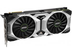 MSI GeForce RTX 2080 Ti DirectX 12 RTX 2080 Ti VENTUS GP OC 11GB 352-Bit GDDR6 PCI Express 3.0 x16 HDCP Ready SLI Support Video Card
