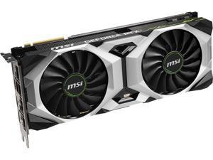 MSI GeForce RTX 2080 Ti DirectX 12 GeForce RTX 2080 Ti VENTUS GP OC 11GB 352-Bit GDDR6 PCI Express 3.0 x16 SLI Support Video Card