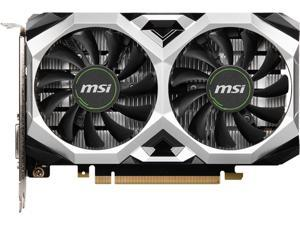 MSI GeForce GTX 1650 DirectX 12 GTX 1650 D6 VENTUS XS OCV1 4GB 128-Bit GDDR6 PCI Express 3.0 x16 HDCP Ready Video Card