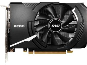 MSI GeForce GTX 1650 DirectX 12 GTX 1650 D6 AERO ITX OCV1 4GB 128-Bit GDDR6 PCI Express 3.0 x16 HDCP Ready ITX Video Card
