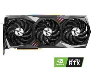 MSI Gaming GeForce RTX 3090 24GB GDDR6X PCI Express 4.0 SLI Support Video Card RTX 3090 GAMING X TRIO 24G
