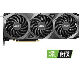 MSI GeForce RTX 3070 DirectX 12 RTX 3070 VENTUS 3X OC 8GB 256-Bit GDDR6 PCI Express 4.0 HDCP Ready Video Card