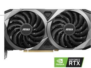 MSI GeForce RTX 3070 DirectX 12 RTX 3070 VENTUS 2X OC 8GB 256-Bit GDDR6 PCI Express 4.0 HDCP Ready Video Card