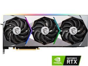 MSI GeForce RTX 3090 RTX 3090 SUPRIM X 24G 24GB 384-Bit GDDR6X Video Card