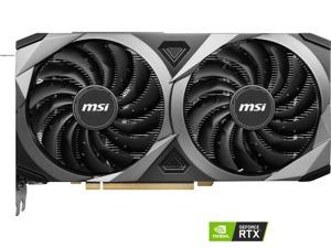 MSI GeForce RTX 3060 Ti DirectX 12 RTX 3060 Ti VENTUS 2X OC 8GB 256-Bit GDDR6 PCI Express 4.0 HDCP Ready Video Card