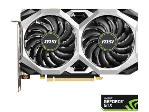 MSI GeForce GTX 1660 SUPER DirectX 12 GTX 1660 SUPER VENTUS OC 6GB 192-Bit GDDR6 PCI Express 3.0 x16 HDCP Ready Video Card