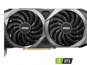 MSI Ventus GeForce RTX 3060 Ti 8GB GDDR6 PCI Express 4.0 Video Card RTX 3060 Ti VENTUS 2X