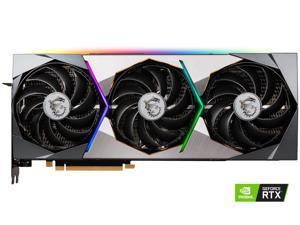 MSI GeForce RTX 3070 DirectX 12 RTX 3070 SUPRIM X 8G 8GB 256-Bit GDDR6 PCI Express 4.0 HDCP Ready Video Card