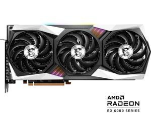 MSI Gaming Radeon RX 6800 XT 16GB GDDR6 PCI Express 4.0 CrossFireX Support Video Card RX 6800 XT GAMING X TRIO 16G
