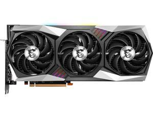 MSI Radeon RX 6900 XT DirectX 12 Ultimate RX 6900 XT Gaming X Trio 16G 16GB 256-Bit GDDR6 PCI Express 4.0 x16 HDCP Ready Video Card