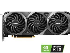 MSI GeForce RTX 3060 DirectX 12 Ultimate RTX 3060 Ventus 3X 12G OC 12GB 192-Bit GDDR6 PCI Express 4.0 HDCP Ready Video Card
