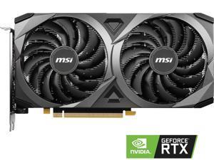 MSI GeForce RTX 3060 DirectX 12 Ultimate RTX 3060 Ventus 2X 12G OC 12GB 192-Bit GDDR6 PCI Express 4.0 HDCP Ready Video Card