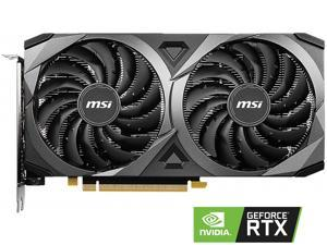 MSI GeForce RTX 3060 DirectX 12 Ultimate RTX 3060 VENTUS 2X 12G 12GB 192-Bit GDDR6 PCI Express 4.0 HDCP Ready Video Card
