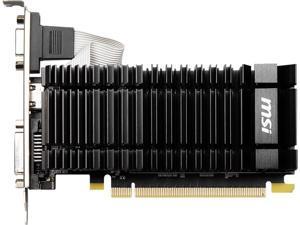 MSI GeForce GT 730 2GB DDR3 PCI Express 2.0 Low Profile Video Card N730K-2GD3H/LPV1