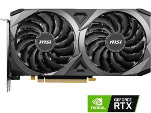 MSI Ventus GeForce RTX 3060 Ti 8GB GDDR6 PCI Express 4.0 Video Card RTX 3060 Ti VENTUS 2X 8G OCV1 LHR