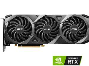 MSI Ventus GeForce RTX 3060 Ti 8GB GDDR6 PCI Express 4.0 Video Card RTX 3060 Ti VENTUS 3X 8G OC LHR