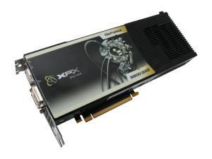 XFX GeForce 9800 GX2 DirectX 10 PVT98UZHF9 1GB (512MB per GPU) 512-bit (256-bit per GPU) GDDR3 PCI Express 2.0 x16 HDCP Ready SLI Support Video Card