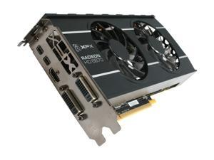XFX Double D Radeon HD 6870 1GB GDDR5 PCI Express 2.1 x16 CrossFireX Support Video Card with Eyefinity HD-687A-ZDFC