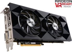 XFX BLACK Edition Radeon R9 390 DirectX 12 R9-390P-8286 8GB 512-Bit GDDR5 PCI Express 3.0 CrossFireX Support Video Card