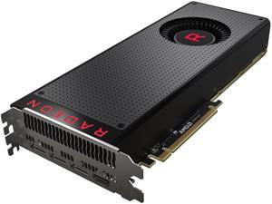 XFX Radeon RX Vega 56 RX-VEGMLBFX6 8GB 2048-Bit HBM2 PCI Express 3.0 CrossFireX Support Video Card - Black Design