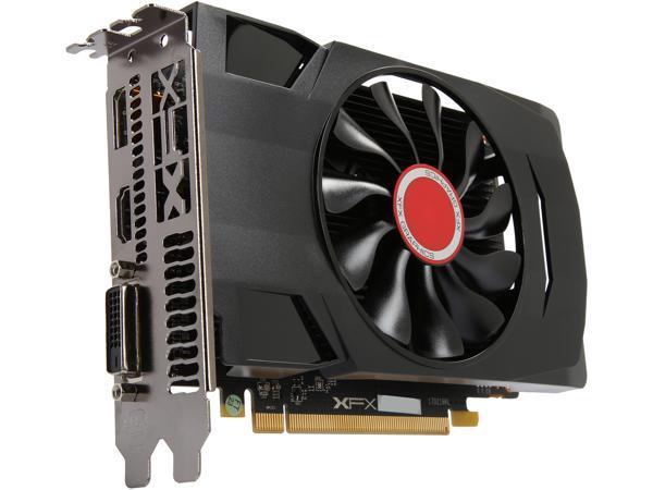 XFX Radeon RX 550 DirectX 12 RX-550P4SFG5 4GB 128-Bit DDR5 PCI Express 3.0 Video Card