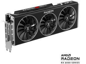 XFX Speedster MERC319 RX 6800 XT Black Edition Gaming Graphics Card with 16GB GDDR6, HDMI 2.1, 2 x DP, USB-C, AMD RDNA 2